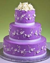 Tri Sigma wedding cake  Susan's Rose Cottage
