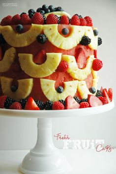 GOOD THiNGS | Best Ever {Fresh} FRUiT Cake