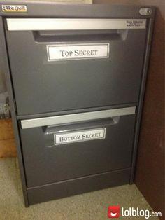 Might have to borrow this idea!