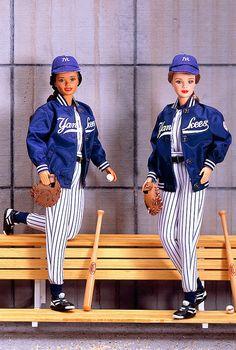 New York Yankees Barbies