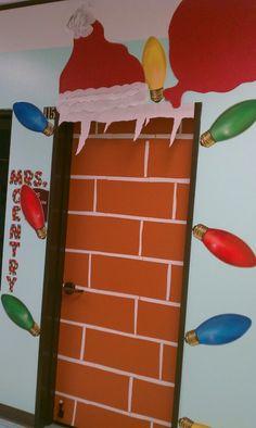 Classroom Decorations - Santa's Door