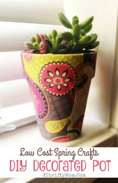 Flower pot DIY Decor