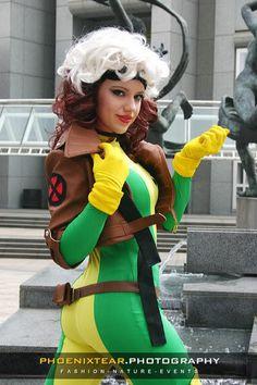rogue costume, halloween costumes, rogu costum, xmen cosplay, random cosplay
