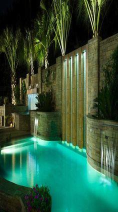 Pool Environments #pools #swimmingpools #swimmingpool #luxurypool #swimming #pool #summer #fun #backyard #exteriors #homedecor #homedesign #architecture #lighting #outdoors #familytime www.gmichaelsalon.com #greatoutdoors #backyard #hottub #sauna