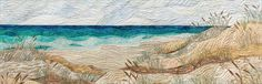 """Path to the Beach"" by Eileen Williams. Quilting Arts June/July 2013"