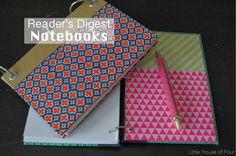 How to make a Reader's Digest Notebook...