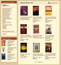 Amazon Hebrew Roots Bookstore #Bible #Holidays #Messianic #HebrewRoots