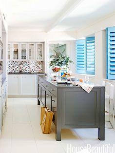 12 Kitchen Island Ideas - Unique Kitchen Islands Design - House Beautiful