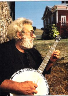 Jerry Garcia... before he was grateful and dead, he was a banjo picker, and a great one!