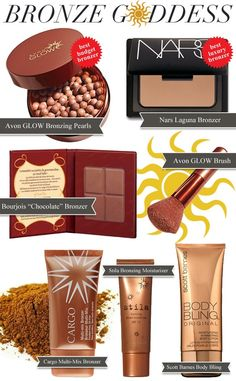 THE BEST: Bronzers  Pretty Shiny Sparkly