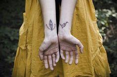 paper crane origami tattoo