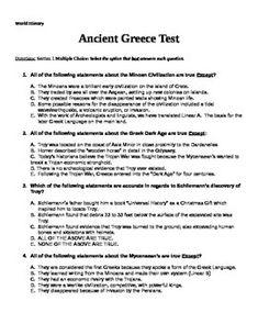 preparing a test true and false essay