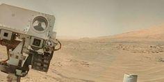 #Mars Curiosity #selfie