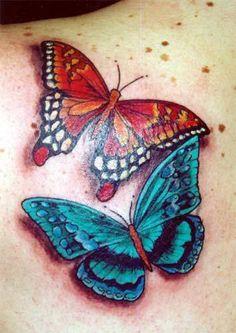 most beautiful butterfly tattoos for women | tattoo-designs-7-back-shoulder-left-butterfly-tattoos.jpg