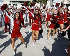 South Carolina cheerleaders