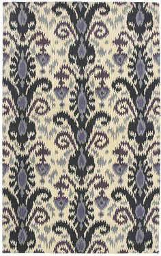"fauxkat: Area Rug in style "" Nomad"" color purple - by Shaw Floors"