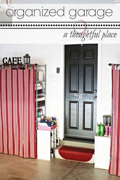 Garage Organization on Pinterest