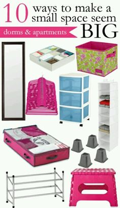 small apartments, apart guid, colleg prep, tiny apartments, bedroom organization