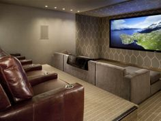theater room, home theaters, builder idea, theater seat, media room, homes