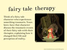 Writing Prompt: Describe a fairy tale character's discussions with his/her therapist years after the event.