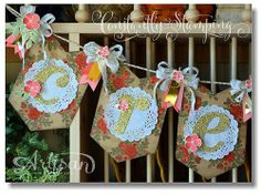 A fun new way to use the Stampin' Up! Celebration Banner