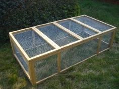 Outdoor Wood Mesh En