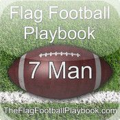 7 Man Flag Football Playbook for iPhone.