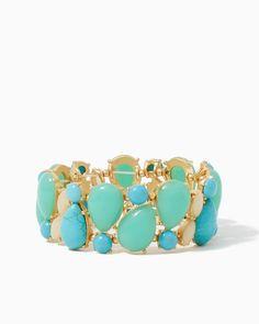 Bauble Caboodle Bracelet | UPC: 410006738508 #charmingcharlie #COTM
