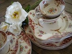 Vintage Staffordshire Dishes.