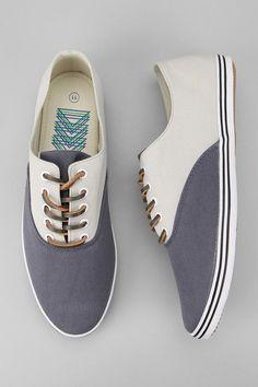 Urban Outfitters - Josef Twill Plimsoll Sneaker