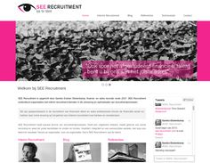 The #Website and full #Branding design we at www.boostingyourbrand.com made for our client SEE Recruitment ➠  www.see-recruitment.com A full website including News Feed, full social integration, Blog and much more! If you are in the market for a new website or want to discuss a redesign please contact Jakolien Sok @ jakolien@boostingyourbrand.com