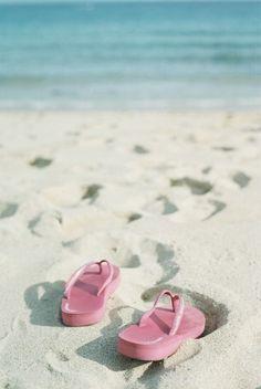 Beach Cottage Life ⚓ Flip Flops