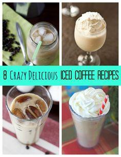 8 Crazy Delicious Iced Coffee Recipes