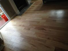 Recent installation by Enhance Floors & More Mohawk Flooring Barnsley Hickory color Country Natural