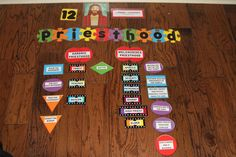 Diagram the Priesthood - Aaronic and Melchizedek -- offices and responsibilities.    D 107:6-8  D 107-14-17    *What blessings from the Priesthood?  *Which Priesthood holder has had the most direct influence to date on your life? Why?    Ephesians 5:23  D 121:41-45    *What are the responsibilities of fathers?   *Ask the girls to share an experience where they received a powerful blessing.  *How do you want to see the Priesthood used in your future home?    Ephesians 6:1-4
