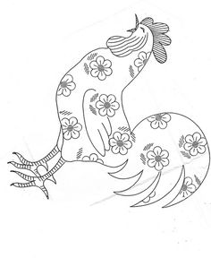 daisy rooster by kittykill, via Flickr