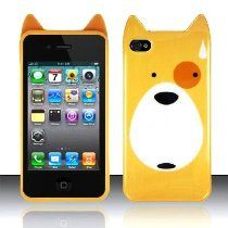 [Yellow] Curious Pup Case for #iPhone 4/4S - $7.90