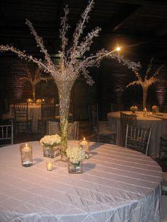 christma joy, tabl idea, winter decor, tabl decor, church christma, white tabl