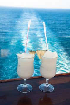 Our drink of choice on the Royal Caribbean Oasis of the Seas cruise