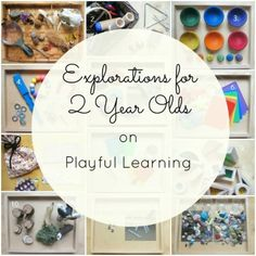 art and math project | Reggio inspired investigations for toddlers and two year olds - An ...
