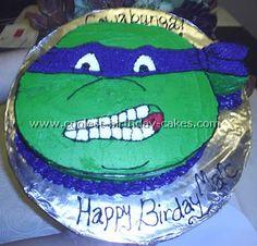Teenage Mutant Ninja Turtles Cake Photo