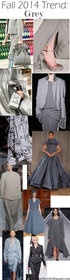 Fall 2014 Trend - Grey