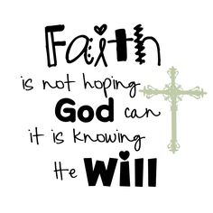 He will.