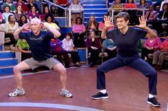 David Kirsch's Celebrity Workout Duck Walk the Celebrities do for those great buns