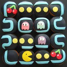 PacMan Cupcakes!!!