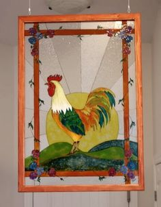 L'atelier de Francine: faux vitrail