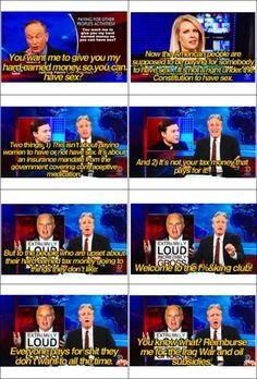 Thank you, Jon Stewart!