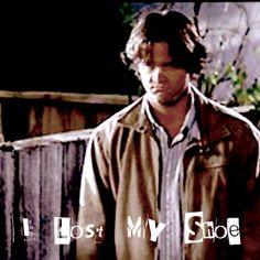 """Supernatural: Season 3: Episode 3: """"Bad Day At Black Rock.""""  Sam Winchester. My favorite episode! :)"""