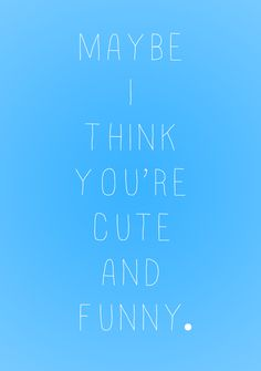 You & I - Ingrid Michaelson.