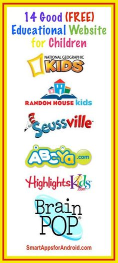 Top 14 Free Educational Websites for Children